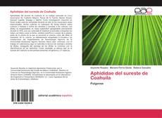 Portada del libro de Aphididae del sureste de Coahuila