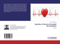 Buchcover von Quality of Service Provided by Hospitals