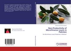 Capa do livro de Non-Productivity of Microfinance Loans in Pakistan