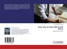 Couverture de Easy way to learn Microsoft Word