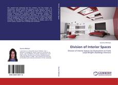 Bookcover of Division of Interior Spaces