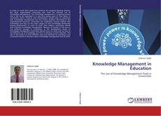 Knowledge Management in Education kitap kapağı