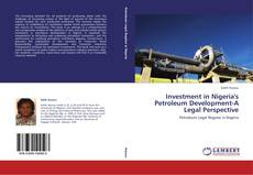 Обложка Investment in Nigeria's Petroleum Development-A Legal Perspective