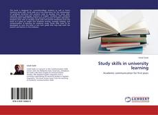 Bookcover of Study skills in university learning