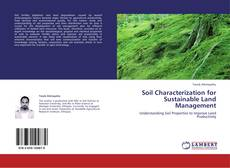 Bookcover of Soil Characterization for Sustainable Land Management