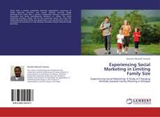 Capa do livro de Experiencing Social Marketing in Limiting Family Size