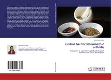 Обложка Herbal Gel for Rheumatoid arthritis