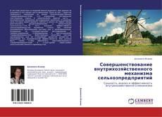 Bookcover of Совершенствование внутрихозяйственного механизма сельхозпредприятий