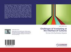 Capa do livro de Challenges of translating at the interface of Cultures