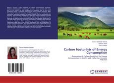 Carbon footprints of Energy Consumption kitap kapağı