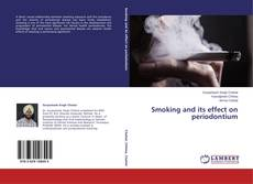 Buchcover von Smoking and its effect on periodontium