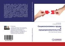 Buchcover von Социоэкономика труда и предпринимательства