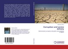 Couverture de Corruption and service delivery