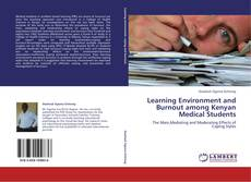 Capa do livro de Learning Environment and Burnout among Kenyan Medical Students