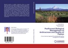 Portada del libro de Postharvest Biological Management of Anthracnose and Quality of Papaya
