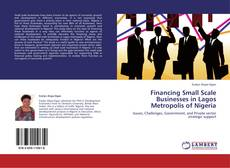 Bookcover of Financing Small Scale Businesses in Lagos Metropolis of Nigeria