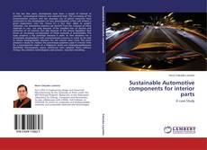 Bookcover of Sustainable Automotive components for interior parts