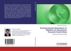 Capa do livro de Environmental Awareness in Relation to Awareness Towards Social Duty
