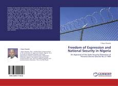 Buchcover von Freedom of Expression and National Security in Nigeria