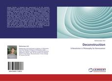 Bookcover of Deconstruction