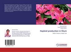 Buchcover von Haploid production in lilium