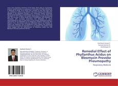 Capa do livro de Remedial Effect of Phyllanthus Acidus on Bleomycin Provoke Pneumopathy