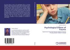 Portada del libro de Psychological Effects of Trauma