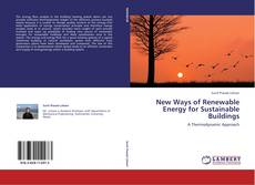 Copertina di New Ways of Renewable Energy for Sustainable Buildings