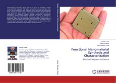 Functional Nanomaterial Synthesis and Characterization kitap kapağı