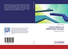 Bookcover of Lecture Notes on Differential Calculus
