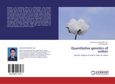 Обложка Quantitative genetics of cotton