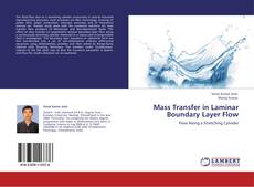 Bookcover of Mass Transfer in Laminar Boundary Layer Flow