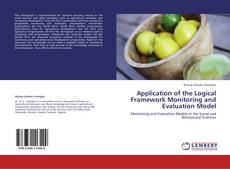 Capa do livro de Application of the Logical Framework Monitoring and Evaluation Model