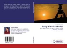 Study of soul and mind kitap kapağı