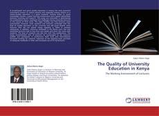 Copertina di The Quality of University Education in Kenya