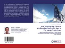 Buchcover von The Application of Low Carbon Technologies in the European Industries