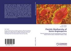 Bookcover of Floristic Biodiversity of Some Angiosperms