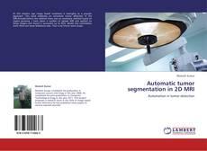 Portada del libro de Automatic tumor segmentation in 2D MRI
