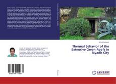 Обложка Thermal Behavior of the Extensive Green Roofs in Riyadh City
