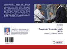 Corporate Restructuring In Kenya: kitap kapağı