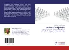 Bookcover of Conflict Management