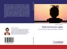 Buchcover von Child and human rights