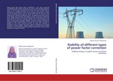 Bookcover of Stability of different types of power factor correction