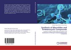 Bookcover of Synthesis of Macrolides and N-Heterocyclic Compounds
