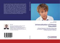Buchcover von Universalization of Primary Education