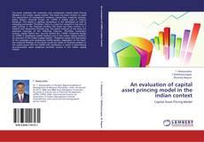 Borítókép a  An evaluation of capital asset princing model in the indian context - hoz