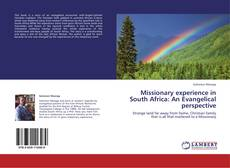Missionary experience in South Africa: An Evangelical perspective kitap kapağı