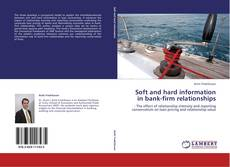 Buchcover von Soft and hard information in bank-firm relationships