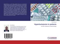 Bookcover of Hyperlactatemia in patients