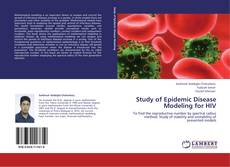 Bookcover of Study of Epidemic Disease Modeling for HIV